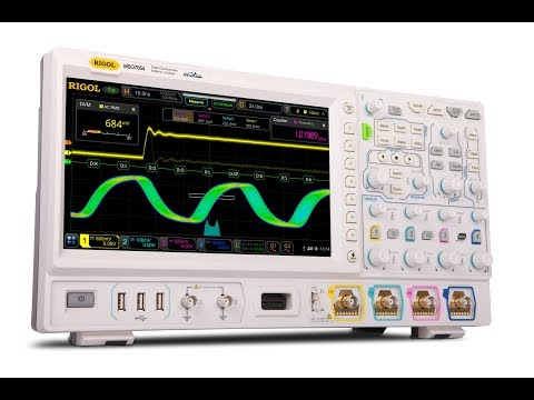 Video of Introduction of the DS7000 series Digital Oscilloscopes