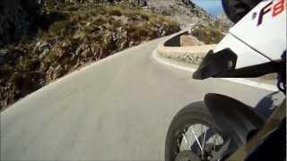 preview picture of video 'Kurvenspass 2012 - Mallorca - Road to Sa Calobra'