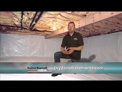 What happens in your crawl space doesn't stay in your crawl space. It impacts your family's health, indoor air quality, your property's value, structural integrity and even your heating and cooling bills! Dry Zone Basement Systems can turn your nasty, moldy crawl space into a clean, healthy environment, free of odors, mold and bugs -- one that will make your home more comfortable and energy efficient!