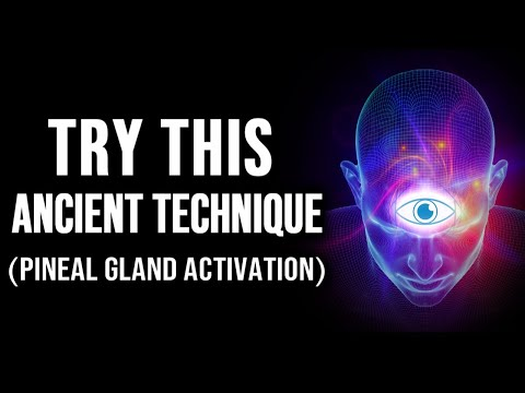 How to INSTANTLY Open Your Third Eye and ACTIVATE Your Pineal Gland! (Powerful Technique!)