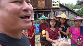 อินดอจี พม่า 11/46: เสน่ห์ปลายจวักน้องตินซาอูสาวไทแดง บ้านนามเด อินดอจี พม่า Namde kitchen