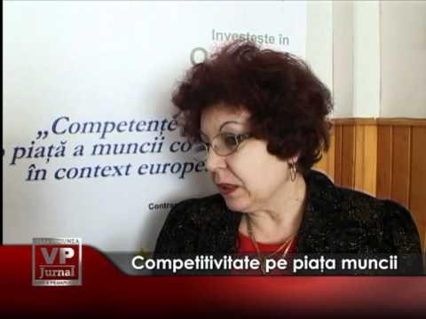 Competitivitate pe piaţa muncii