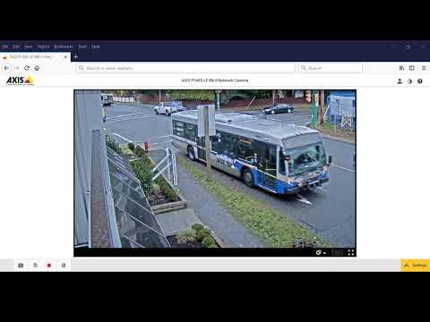 AXIS P1405-LE Mk II Network Camera Video Surveillance