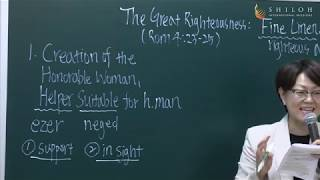 The Great Righteousness: Fine Linen, Bright and Clean