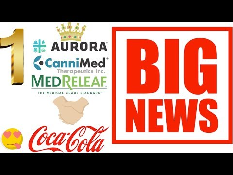BIG stock market news Aurora will be the Number 1 in the MJ industry. Coke investing into Aurora.