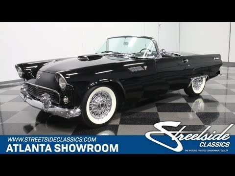Video of Classic 1955 Ford Thunderbird Offered by Streetside Classics - Atlanta - PZDE