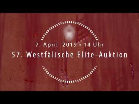 7. April: 57. Westfälische Elite-Auktion
