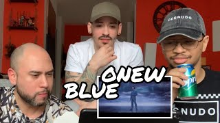 NON KPOP FANS REACT TO ONEW BLUE | MUKBANG