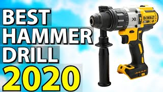 ✅ TOP 5: Best Hammer Drill 2020