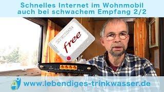 Schnelles Internet im Wohnmobil   auch bei schwachem Empfang 2/2