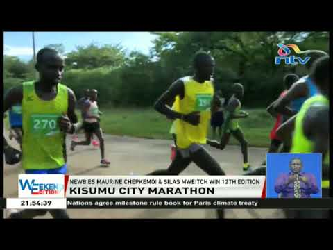Kisumu City Marathon newbies Maurine Chepkemoi and Silas Mweitch win 12th edition