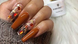 Fall Nails 🍂✨  Acrylic Nails Tutorial