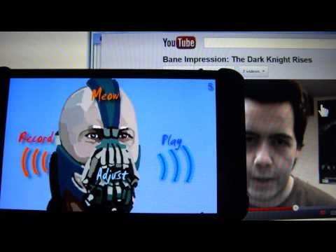 Video of Bane Voice Changer BTVC Batman