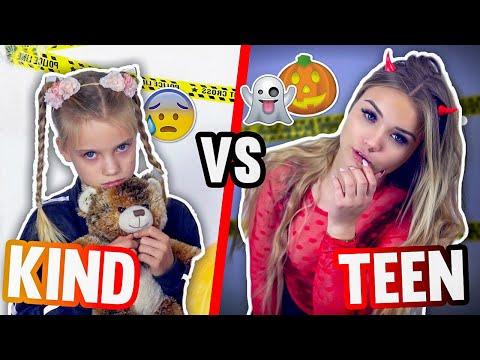 KIND vs TEENAGER an HALLOWEEN 🎃👻