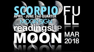 Scorpio Moon Sign 2nd Quarter 2018 Reading