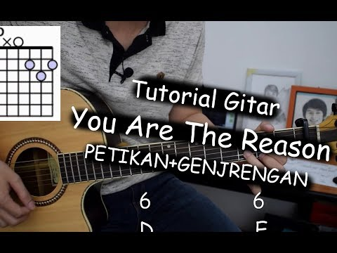 Belajar Gitar (You Are The Reason - Calum Scott)