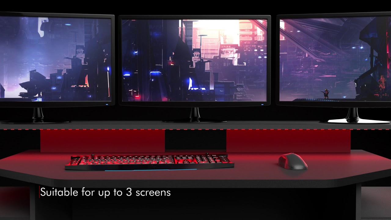 Gaming SetUp Desk Product Video