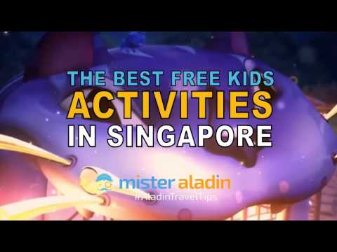 The Best FREE Kids Activities in Singapore | Mister Aladin Travel Ideas