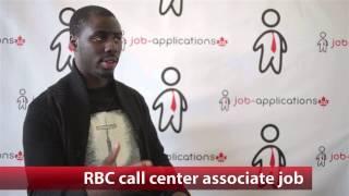 Royal Bank of Canada Call Centre Associate Job
