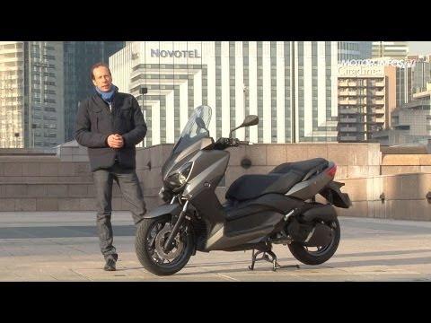 Essai scooter Yamaha X-Max 125 2014