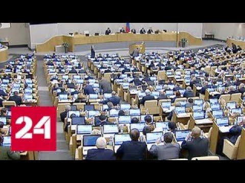 Госдума приняла бюджет до 2020 года - Россия 24