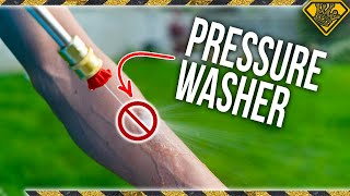 PRESSURE WASHER vs SKIN