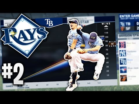 Can The TAMPA BAY RAYS March To October? #2 | MLB The Show 19