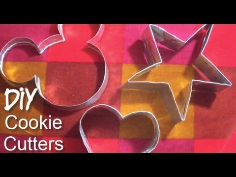 DIY: How to make a Cookie Cutter