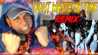 Krept & Konan - Don't Waste My Time Remix ft Chip, French Montana, Wretch 32, Chinx,Fekky Reaction
