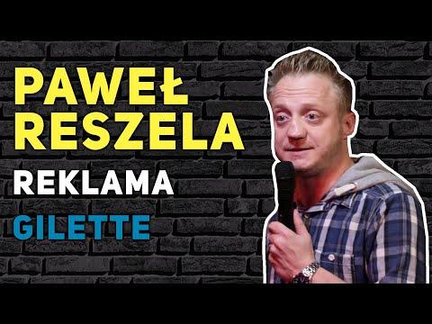 Paweł Reszela - Reklama Gilette