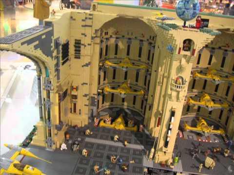LEGO Ausstellung Riem Arcaden München - Teil 2 Avatar Star Wars Kriegsschiff Circus Bricks