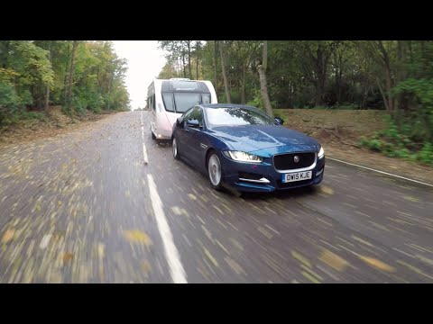 The Practical Caravan Jaguar XE review