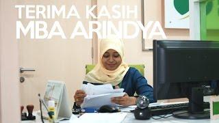 Terima Kasih Mba Arindya   BPJS Ketenagakerjaan Kantor Cabang Jakarta Pulogebang