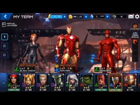 MARVEL Future Fight βίντεο