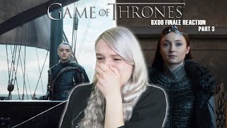 Game of Thrones 8x06 'The iron throne' REACTION part 3
