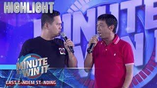Bayani at Long, ready na bang palitan sa hosting sina Luis at Robi? | Minute To Win It