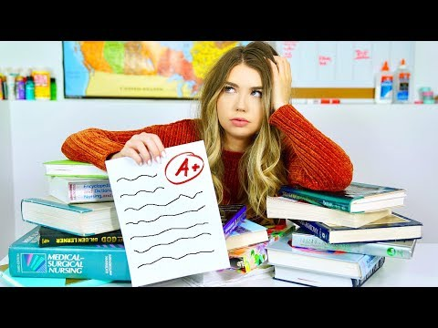How To Get An A WITHOUT Studying! 17 NO Study Hacks To Get ...