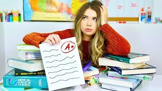 How To Get An A WITHOUT Studying! 17 NO Study Hacks To Get Straight A's!