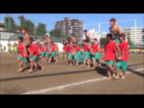 2013年度 成城中学校 運動会 14 騎馬戦