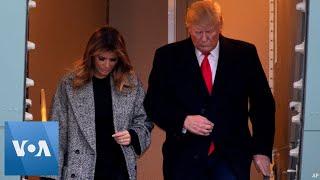 Donald Trump Returns to Washington DC