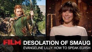 How To Speak Elvish With Evangeline Lilly