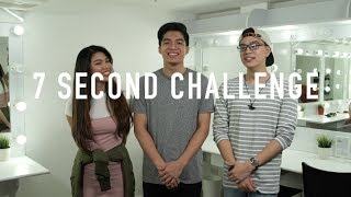 7 Second Challenge with Janina Vela and Nate Punzalan | DAVID SAMSON