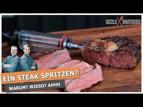 Ein Steak spritzen? - Steakmythos Salz !