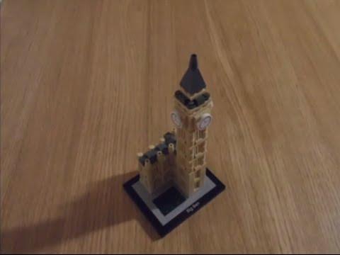 Vidéo LEGO Architecture 21013 : Big Ben