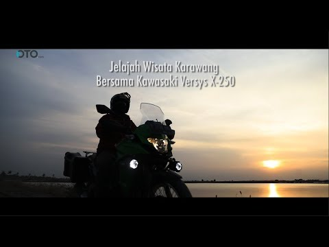Jelajah Wisata Karawang Bersama Kawasaki Versys X-250 Tourer I OTO.COM