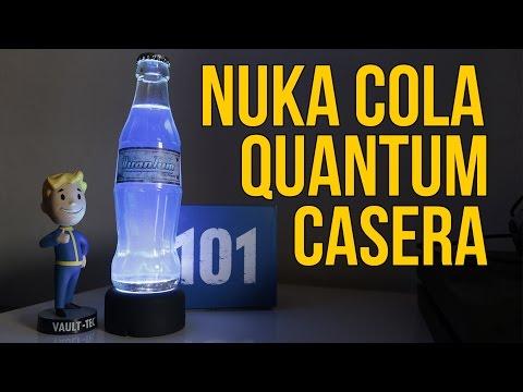 Cómo hacer la botella de Nuka Cola Quantum de Fallout