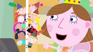 Ben and Holly's Little Kingdom | Fun Time at Lucy's Birthday party! |1Hour | HD Cartoons for Kids