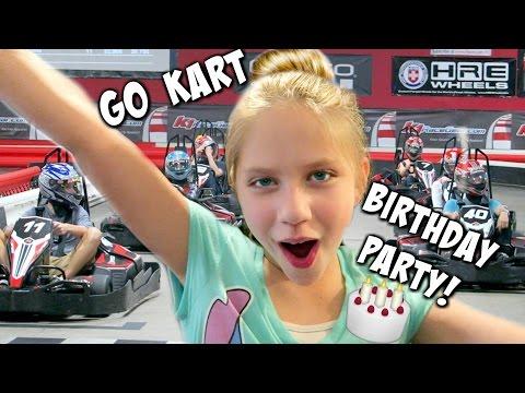 Go Kart Race Cars Birthday Party! hopes vlogs