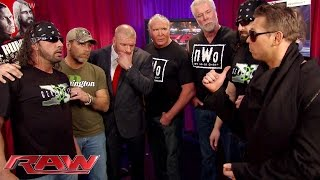 The Kliq reunites backstage: Raw, January 19, 2015
