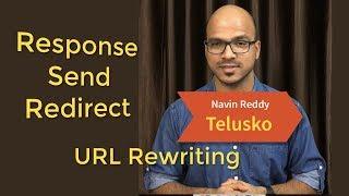 #9 Servlet and JSP Tutorial |  sendRedirect | URL Rewriting